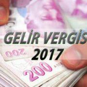 Gelir Vergisi 2017 Rakamlari Beyanname Verme Siniri Ne Kadar Oldu,kira beyannamesi 2017
