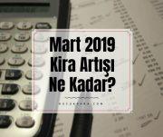 mart 2019 kira artisi,mart 2019 kira artis orani,