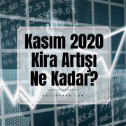 kira artisi,kira artis orani,kasim 2020