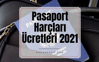 pasaport harclari 2021,pasaport ucretleri 2021,pasaport defter bedeli 2021